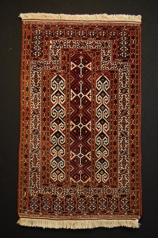 Antik Teppich Turkmenisch Sammler Carpet Rug TOP  eBay